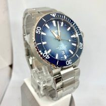Oris Aquis Date Steel 43.5mm Blue No numerals United States of America, New York, NY