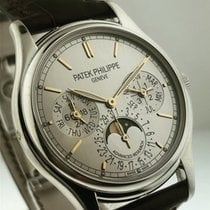 Patek Philippe Perpetual Calendar Platinum 37mm Silver United States of America, California, Beverly Hills