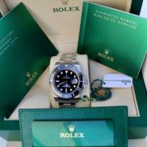 Rolex Submariner Date Acier 41mm Noir Sans chiffres France, 63800