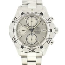 TAG Heuer Aquaracer 300M pre-owned Silver Steel