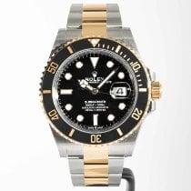 Rolex Submariner Date Gold/Steel 41mm Black No numerals United States of America, Massachusetts, Boston