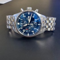 IWC Pilot Chronograph Steel 43mm Blue Arabic numerals United States of America, California, Torrance