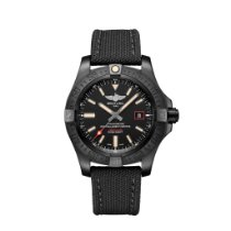 Breitling Avenger Blackbird 44 Titanium 44mm Black No numerals United States of America, New York, New York City