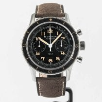 Blancpain Air Command Сталь Черный