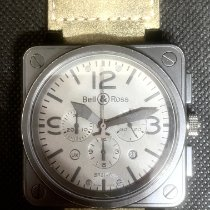 Bell & Ross BR 01-94 Chronographe Carbone 46mm Gris Arabes