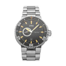 Oris Aquis Small Second Steel 46mm Black No numerals United States of America, Pennsylvania, Bala Cynwyd