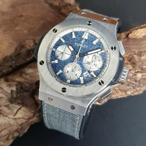 Hublot Big Bang Jeans Acero 44mm Azul