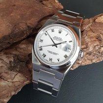 Rolex Сталь Кварцевые Белый 36mm подержанные Datejust Oysterquartz