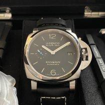 Panerai Reloj nuevo 2020 Acero 42mm Arábigos Automático Reloj con estuche y documentos originales