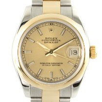 Rolex Lady-Datejust pre-owned 31mm Gold Date Gold/Steel