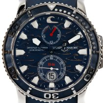 Ulysse Nardin Maxi Marine Diver Steel 43mm Blue