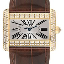Cartier Tank Divan Yellow gold 32mm Silver Roman numerals United States of America, California, Moorpark