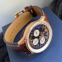 Breitling Navitimer 1 B01 Chronograph 43 Красное золото 43mm Черный
