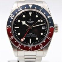 Tudor Black Bay GMT Acero 41mm Negro Sin cifras