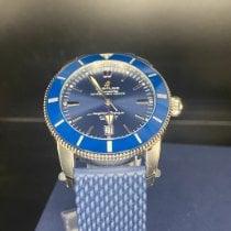 Breitling Superocean Heritage II 46 Steel 46mm Blue No numerals