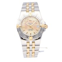 Breitling Starliner Gold/Steel 30mm Mother of pearl