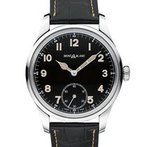 Montblanc new Manual winding Small seconds Luminous numerals Luminous hands Limited Edition 44mm Steel Sapphire crystal