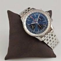 Breitling Navitimer 1 B01 Chronograph 43 Acero 43mm Azul Sin cifras