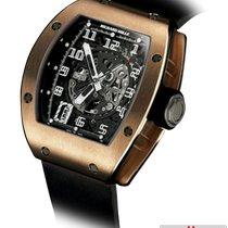 Richard Mille RM 010 Pозовое золото 40mm Черный Aрабские