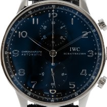 IWC Portuguese Chronograph IW371438 Very good Steel 41mm Automatic