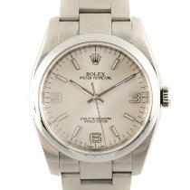 Rolex Oyster Perpetual 36 Сталь 36mm Cеребро
