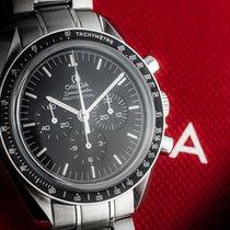 Omega Speedmaster Professional Moonwatch Stal 42mm Czarny Bez cyfr Polska, Warszawa