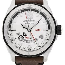 Armand Nicolet S05 Stahl 44mm Silber