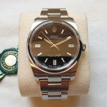 Rolex Oyster Perpetual 36 Acier 36mm Noir Arabes France, Paris