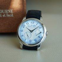 F.P.Journe Platin 40mm Handaufzug Chronomètre Souverain Nacre / Mother of Pearl gebraucht
