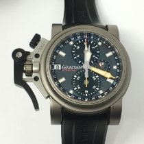 Graham Chronofighter Oversize Titanio 47mm Gris Sin cifras