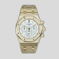 Audemars Piguet Royal Oak Chronograph Yellow gold 39mm White United States of America, New York, New York