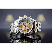 Breitling Chrono Galactic Gold/Steel 39mm Mother of pearl