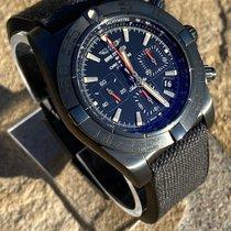 Breitling Chronomat 44 Blacksteel Acero 44mm Negro Sin cifras