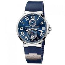 Ulysse Nardin Marine Chronometer 43mm Сталь 43mm Синий