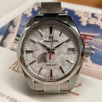 Seiko Grand Seiko Steel 41mm White No numerals