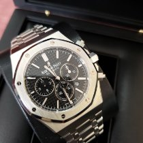 Audemars Piguet Royal Oak Chronograph Steel 41mm Black No numerals United States of America, New Jersey, Totowa