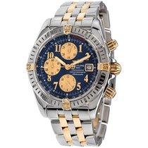 Breitling Chronomat Evolution Gold/Steel 44mm Blue Arabic numerals United States of America, New York, Greenvale