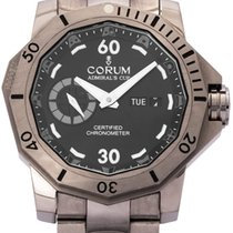 Corum 947.950.04/0371 AN12 Titanium 2012 Admiral's Cup Seafender Deep Hull 48mm pre-owned