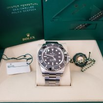 Rolex Sea-Dweller Deepsea Steel 44mm Black No numerals United States of America, New Jersey, Totowa