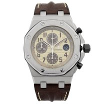 Audemars Piguet Royal Oak Offshore Acier 42mm Champagne Arabes