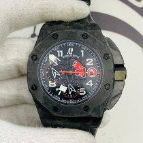 Audemars Piguet Carbon Automatic Black Arabic numerals 44mm pre-owned Royal Oak Offshore