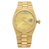 Rolex Day-Date Oysterquartz Yellow gold 36mm Champagne United States of America, New York, NYC