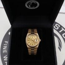 Rolex Day-Date Oysterquartz Oro amarillo 36mm Champán