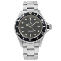 Rolex Submariner (No Date) pre-owned 40mm Black Date Steel