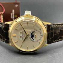 Patek Philippe 3448J Yellow gold 1977 Perpetual Calendar 37.5mm pre-owned