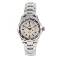 TAG Heuer Link Lady pre-owned 27mm Mother of pearl Steel