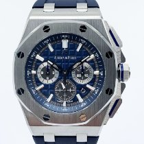 Audemars Piguet Royal Oak Offshore Chronograph Titane 42mm Bleu Sans chiffres France, Paris