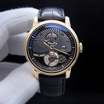 Arnold & Son TE8 Rose gold 44mm Black