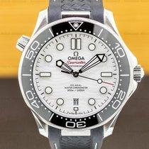 Omega Seamaster Diver 300 M Steel 42mm White United States of America, Massachusetts, Boston