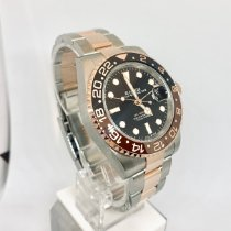 Rolex GMT-Master II Gold/Steel 40mm Black No numerals United States of America, New York, NY
